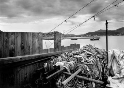 Baia, boat ropes